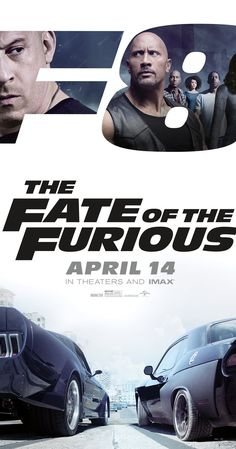 Directed by F. Gary Gray.  With Vin Diesel, Jason Statham, Dwayne Johnson, Michelle Rodriguez. When a mysterious woman seduces Dom into the world of terrorism and a betrayal of those closest to him, the crew face trials that will test them as never before.