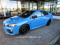 2016 Subaru Wrx Sti Series Hyperblue Only 700 Models Will Be