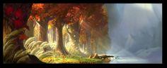 Artofellenjin: Color Script and concept arts for Tinkerbell and Secret of the Wings - Ellen Jin