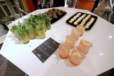 Cocktails & canapes