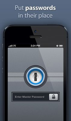 Beautiful app for keeping track of all your passwords.