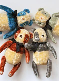 and other silly things: new work- after a long break Teddy Bear Hug, Teddy Bears, Jennifer Murphy, Modern Toys, Charlie Bears, Softies, Doll Toys, New Work, Art Dolls