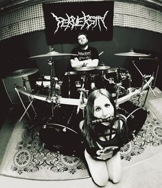 Perversity drummer by Zachy photography. Drummers are dominant not only in music but in a life also. BDSM and DEATH METAL!!!