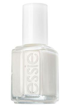 Essie Nail Polish in Marshmallow. $8.50 Sheer, chip-resisting formula.