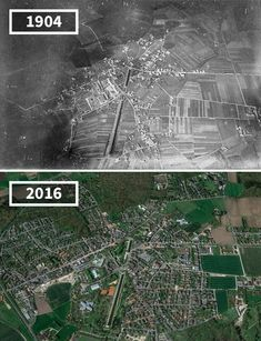 Before & After Pics Showing How The World Has Changed Over Time By Re.Photos - Beauty of Planet Earth Then And Now Pictures, Before And After Pictures, Old Pictures, Earth Photos, Mont Saint Michel, Paris City, Tour Eiffel, Vintage Photographs, Abandoned Places