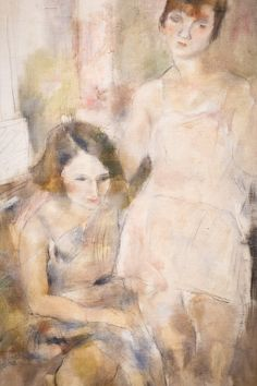 Lovely painting and colors - Jules Pascin who was born in Vidin, Bulgaria, to a Sephardic Jewish family of a grain merchant Marcus Pincas. He is best known as a painter in Paris, where he was strongly identified with the Modernist movement and the artistic circles of Montparnasse. Having struggled with depression and alcoholism, he committed suicide at the age of 45.