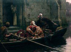In time of peril - Edmund Blair Leighton