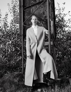 stopping by woods: iselin steiro by hasse nielsen for cover denmark december 2015 | visual optimism; fashion editorials, shows, campaigns & more!