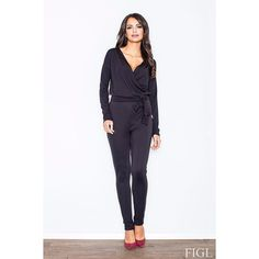 Black Elegant Jumpsuit Laveliq LAVELIQ