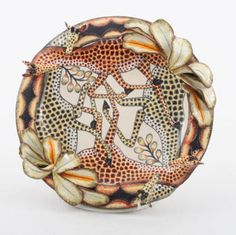 Ardmore Ceramics Giraffe Plate