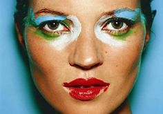 Kate Moss by Mario Testino. In Your Face.