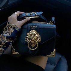 f40dfdeb17 prada lion fashion hand purse  handpurse Luxury Handbags