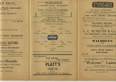 1948 Hounslow Town v Staines Middlesex senior non League Football Programme Football Program, Programming, June, London, Ebay, Computer Programming, London England, Coding