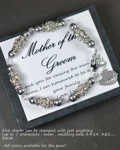 Wedding Gift Ideas For Mothers Of The Bride And Groom : Mother of the groom , mother of the bride gift , mother on law gift ...