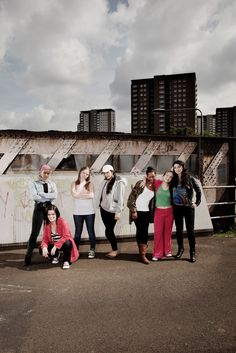 Meet the Glasgow Girls, publicity image by  Simon Murphy  http://www.stratfordeast.com/glasgow-girls-2
