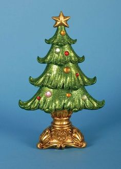 2 Christmas Decorations by Gordon Companies, Inc. $64.50. This product may be prohibited inbound shipment to your destination.. Picture may wrongfully represent. Please read title and description thoroughly.. Shipping Weight: 4.00 lbs. Please refer to SKU# ATR25769913 when you inquire.. Brand Name: Gordon Companies, Inc Mfg#: 30693634. 2 Christmas decorations/trees with ornaments and tree stands/12''H x 6.75''W x 4''D/made of resin and plastic/you get 2 of the tree pictured