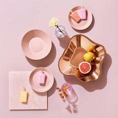 Iittala Teema Dinnerware, Bread & Butter/Side Plate, - Powder, H: Dia: Interior Styling, Interior Decorating, Interior Design, Nova Era, Jewel Tone Colors, Porcelain Dinnerware, Alvar Aalto, Side Plates, Decoration