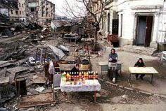 robotcosmonaut:  Grozny, Chechnya - May 1995