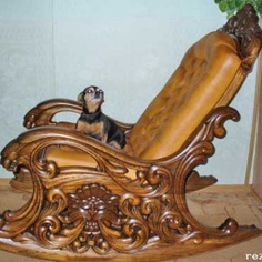 Rocking Chair Plans, Wooden Rocking Chairs, Wooden Sofa Designs, Wood Bed Design, Gothic Furniture, Unique Furniture, Wooden Skirting Board, Wood Carving Art, Wood Carvings