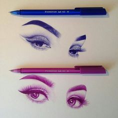 WANT A FREE FEATURE ?  1) like and comment on this photo  2) follow @zbynekkysela  3) CLICK link in my profile   Happy instagramming!   #art #freeshoutouts #shoutout #feature #shoutouts   Repost from @outlinesz__  I just love their eye makeup  also the pens I use are staedtler ball point #mystaedtler via http://instagram.com/zbynekkysela