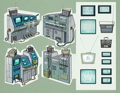 "Egor Afonin - Environment Stuff for ""Space Dogs II"""