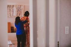Getting dressed - Hussila & Sameer, Auckland