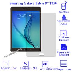 Clear Tempered Glass Screen Protector For Samsung Galaxy Tab A 8  T350 T351 T355
