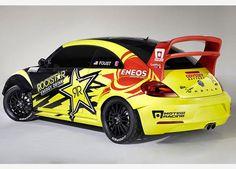 El Volkswagen Beetle más rápido del mundo  El auto es una creación de VW America y el equipo de carreras Andretti Autosport, quienes planean introducirlo este año al campeonato global Rallycros