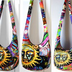 hippie bag made from jeans - Google Search