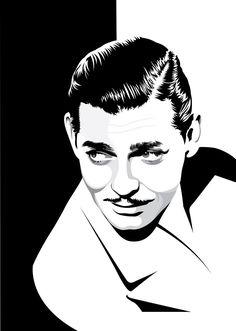 Clark Gable by pin-n-needles.deviantart.com on @deviantART