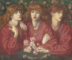 Dante Gabriel Rossetti - Rosa Triplex (1874)