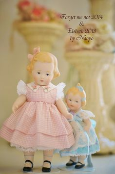 I made these dolls for my work shop sample. 2013-2014