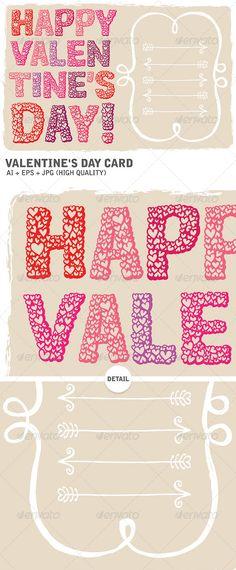Happy Valentine's Day Card (Valentines)