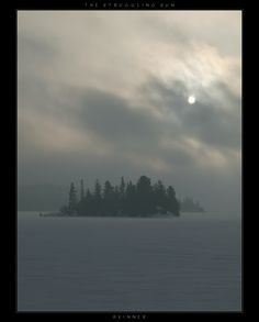 ✯ The Struggling Sun . The sun struggles to shine it's light over Wabigoon Lake near Dryden, Ontario . by *Wb-skinner*✯ Dryden Ontario, Worlds Largest, Clouds, Memories, In This Moment, Deviantart, Sunset, Film, Places