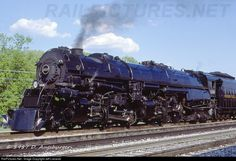 RailPictures.Net Photo: 1218 Norfolk & Western Steam 2-6-6-4 at Crewe, Virginia by Jeff Lisowski