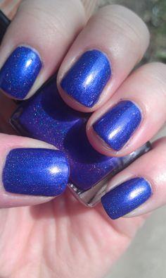 Galactus nail polish from PrettyandPolished @Etsy. $4.75