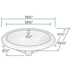 MR Direct White Overmount Porcelain Vanity Bowl - Overstock™ Shopping - Great Deals on MR Direct Bathroom Sinks