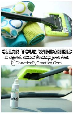 How To Clean Inside Windshield - Chaotically Creative