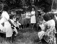 Voyage 5, to Nicaragua-January 1966-November 1966. Nutrition classes by HOPE staff, Nicaragua, 1966.