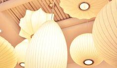 homeautourdumonde | George Nelson Bubble Lamps | http://modernica.net/lighting/pendant/
