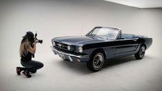 1965 Mustang Convertible Caspian Blue