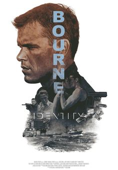 Paul Greengrass's The Bourne Identity Poster by Hans Woody. Best Movie Posters, Cinema Posters, Movie Poster Art, Film Poster Design, Great Films, Good Movies, Watch Movies, Love Movie, Movie Tv