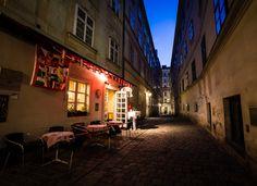swiss restaurant in vienna, austria :: photo by Benjamin Plocek Wide Angle Photography, City Photography, Vienna Austria, To Go, Restaurant, Cold, Pictures, Photos, Diner Restaurant