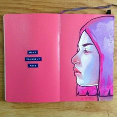 Carlos Avilas, art journal page Art And Illustration, Arte Inspo, Kunst Inspo, Art Journal Pages, Art Journals, Sketch Journal, Journal Prompts, Art Sketches, Art Drawings