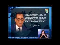 ¡POR FIN! Un juez de la JCE que se respeta. Eddy Olivares...