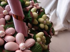 handmade favors - flower bouquets