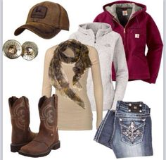 Perfect country girl outfit