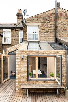 Oliphant Street House / Paper House Project - - Located in Westminster's Queen Park Conservation Area, the Oliphant Street House suffered from a cramped ground floor layout and a lack of . House Extension Design, Extension Designs, Extension Ideas, Victorian Terrace House, Victorian Homes, Style At Home, Rear Extension, Small Garden Extension, Kitchen Extension Terraced House