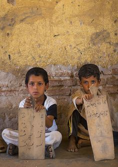 (#4) Because of the destruction from the civil war, places of education are limited in the South and the West of Sudan. The schools that are still there are either destroyed or heavily damaged.