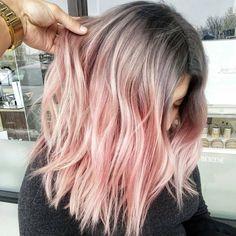"Linh PhanHAIRSTYLIST,COLORIST on Instagram: ""STEEL ROSE soft blend from cool to warm. *formula* steel: 5-12,7-12,E-1,0-22 rose: 9.5-18,9.98, 0-88. 7vol. #BESCENE #flashbackfriday #fbf"" • Instagram"